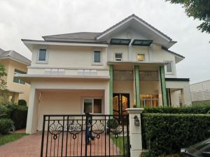 For SaleHouseRathburana, Suksawat : AM - Very urgent !!! Owner sells at a loss House for sale, The Palazzo Ratburana project, behind the corner, near Rama 3, Sathorn, Silom, 110 sq m., 350 sq m., Behind the corner, 4 bedrooms, 5 bathrooms, Fully Furnished + Maid's room, both in and out