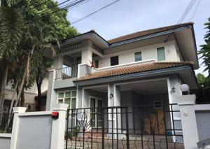 For RentHouseLadprao101, The Mall Bang Kapi : ⭐ For rent !! Detached house at Baan Fah Green Park The village is located in Soi Ladprao 101