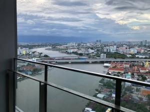 For SaleCondoBang Sue, Wong Sawang : 1 bedroom for sale, river view, high floor