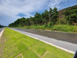 For SaleLandTrat : Land for sale in the area of 27 rai, next to 4 lane road, Khlong Yai District, Trat Province