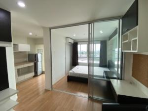 For SaleCondoOnnut, Udomsuk : Condo for sale Lumpini Ville Sukhumvit 77 (2), near BTS On Nut, open view, beautiful room, very new condition, 11th floor, size 26.28 sq.m., price 1.90 million baht.