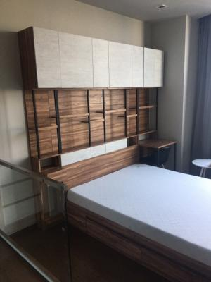 For RentCondoAri,Anusaowaree : NC-R386 Ideo q victory for rent, fully furnished, new room, room details, special price: 25,000 baht per month, minimum contract 1 year, 2 months warranty, 1 month in advance, 1 bedroom, 1 bathroom, 11th floor, room size 35 sq m. Install: Install bts, mon