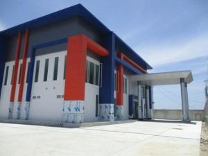 For RentFactorySamrong, Samut Prakan : Factory for rent, Bangna Km.19, Khlong Song Nam, Suvarnabhumi Road, area 3.5 rai, total usable area of 6150 square meters ** Factory license (Ror.4) ** Very good location.