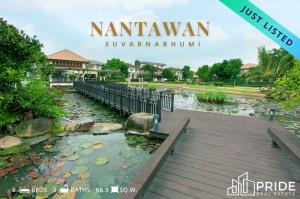 For SaleHouseLadkrabang, Suwannaphum Airport : Single House for sale at Nantawan Suvarnabhumi