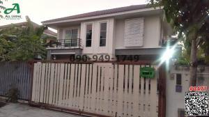 For RentHouseNakhon Pathom, Phutthamonthon, Salaya : Single house for rent, Porntawee Village, Phutthamonthon Sai 5 Park
