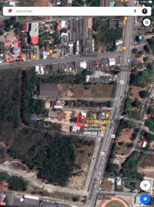 For SaleLandSongkhla : Land for sale 41 square wah in front of the public park, Hat Yai District, close to Seven Khlong Phel Temple.