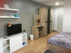 เช่าคอนโดอ่อนนุช อุดมสุข : Condo Regent Home 19 Sukhumvit 93 ใกล้ BTS บางจาก 32 ตร.ม ชั้น8 วิวเมือง ห้องมุม เฟอร์ครบ