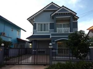 For RentHouseRangsit, Patumtani : Rent: Single house, Flora Ville Park Home, Rangsit project, Soi Workpoint