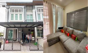 For RentTownhouseKaset Nawamin,Ladplakao : Townhome for rent,  Golden Town 3 - 2 floor, fully furnished, alow pet!!
