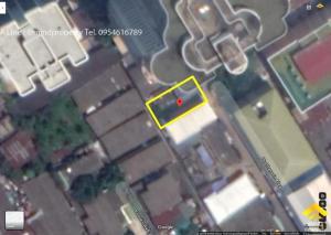 For SaleLandSathorn, Narathiwat : Urgent sale of vacant land. Soi Nang Linchi 2, Sathorn, near BTS Chong Nonsi, near Bangkok's technique
