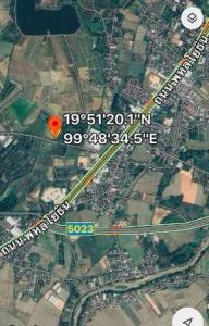 For SaleLandChiang Mai, Chiang Rai : Land for sale in Mueang Chiang Rai District On the main road, beautiful, good location