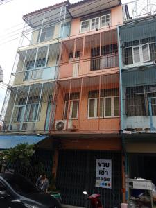 For SaleShophouseWongwianyai, Charoennakor : 4-storey commercial building for sale, Soi Taksin 5