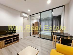 For RentCondoRattanathibet, Sanambinna : Condo for rent, politan rive, river view, size 30 sq m, new room, never entered.