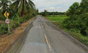 For SaleLandNakhon Nayok : Beautiful agricultural land for sale, 65 rai, next to the canal, paved road ** Guaranteed rental. With a 3-year agricultural tenant contract **