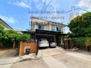 For SaleTownhousePattanakan, Srinakarin : Urgent sale, single house, Pattanakarn-On Nut, 64 sq m., Best price in the project, ready to move in, near BTS On Nut BF11-61.