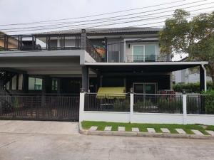 For SaleHouseNawamin, Ramindra : 2-storey house for sale, 65 square meters, 6 bedrooms, The Centro Watcharapol, near the garden