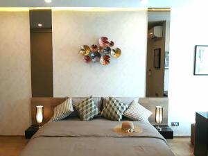 เช่าคอนโดราชเทวี พญาไท : For rent / Sale New Luxury Condo Q Chidlom Phetchaburi 1 Bed 1 Bath 45 sq.m. Floor 27