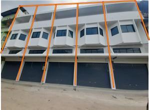 For SaleShophouseSamut Sakhon : Sell, rent, commercial building, commercial building, Mahachai, Samut Sakhon, 6,500 sales, 1.59 million units, 5 booths.