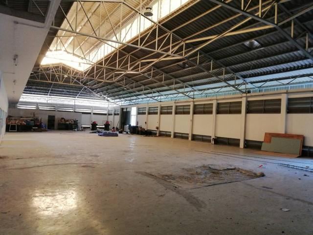 For RentWarehouseRangsit, Patumtani : Factory for rent with warehouse 7 rai, Liab Klong 14, Nong Suea, Pathum Thani