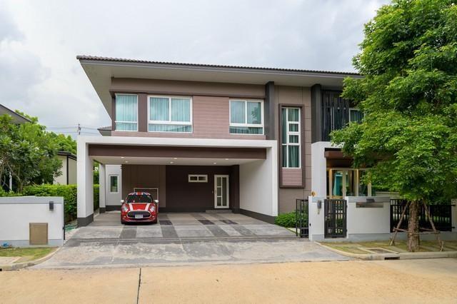 ขายบ้านบางนา แบริ่ง : ขายบ้านเดี่ยว 2 ชั้น โครงการลัดดารมย์บางนา กม.7 ใกล้ Mega Bangna เฟอร์นิเจอร์ครบพร้อมอยู่