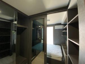 For RentCondoRamkhamhaeng, Hua Mak : For rent Plum Condo Ram 60, 5th floor, fully furnished.