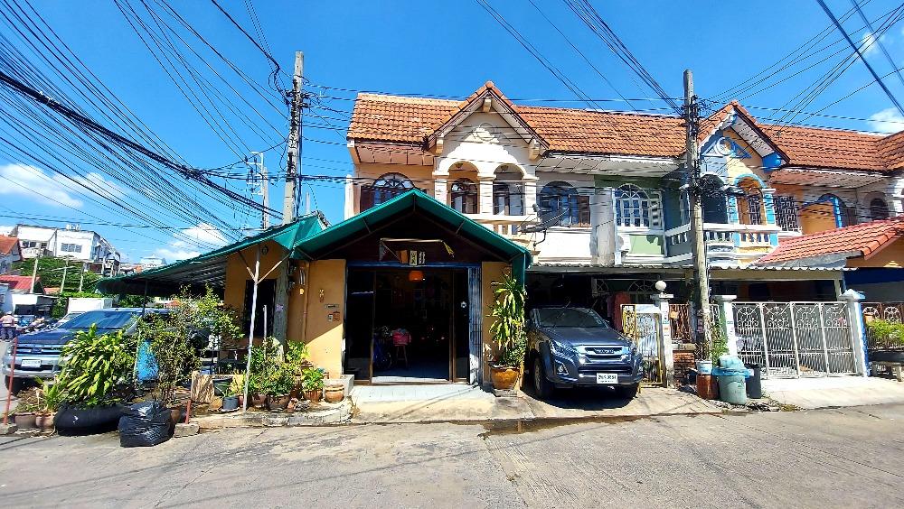 For SaleTownhouseNawamin, Ramindra : Townhouse for sale Sena Villa 3 Village (Corner) Soi Khubon 27, Ram Inthra Road