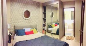 For RentCondoRama9, RCA, Petchaburi : For Rent: Rhythm Asoke 31 sq.m. 1bed, very nice room, price only 15,000 baht Tel. 065-989-9065