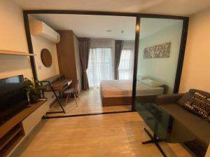 For RentCondoRangsit, Patumtani : For rent Kave Condo near Bangkok University 1 Bedroom Extra (25.80 sq m) Building B, 3rd floor