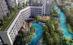 For RentCondoBangna, Lasalle, Bearing : Condo for rent:  Ideo o2 BTS BangNa 300M