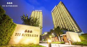 For RentCondoBang Sue, Wong Sawang : Condo for rent 333 Riverside near MRT Bang Po Station, Ready to move in, 46 sqm, starting price 20,000 baht