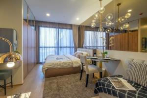For RentCondoSiam Paragon ,Chulalongkorn,Samyan : Urgent for rent !!! Studio, high floor, beautiful room, very good price
