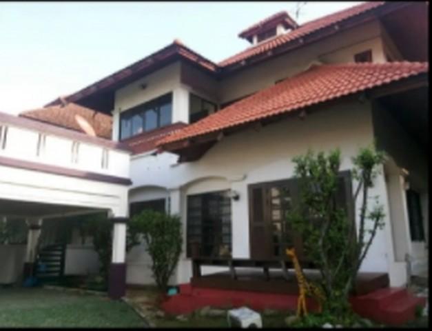 For RentHouseBang kae, Phetkasem : 2 storey house for rent in Bang Khae area Evergreen City Village, near The Mall Bang Khae, near MRT Lak Song
