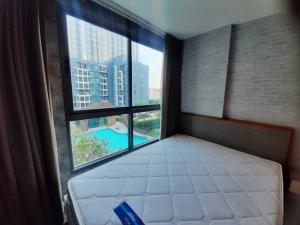For RentCondoRamkhamhaeng, Hua Mak : Condo for rent, Living Nest Ramkhamhaeng (Living Nest Ramkhamhaeng) 🍁 Beautifully decorated room 🍁 Ready to move in