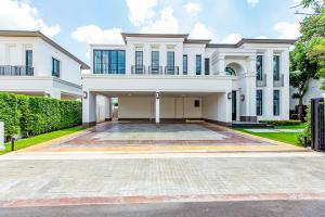 For RentHousePattanakan, Srinakarin : Luxury detached House for rent Baan Sansiri Pattanakarn