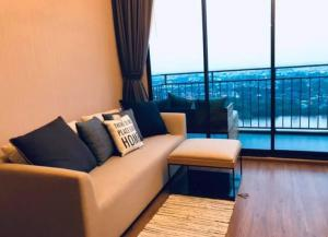For RentCondoRama3 (Riverside),Satupadit : Condo for rent: Condo U delight residence riverfront New room for rent 2 Bedroom at 56 sq.metre, river front room Top floor at 30th