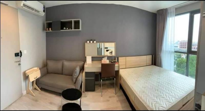 For SaleCondoOnnut, Udomsuk : 1686-Y😊😍 RENT & SELL Studio room for rent and sale🚅Near BTS On Nut just 2 minutes (160 m.)🏢Ideo Mobi Sukhumvit🔔Area: 22.00 sq.m.💲Rent: 13,000. - Baht💲Sale: 3,400,000.- Baht 📞: 099-5919653✅LineID: @sureresidence