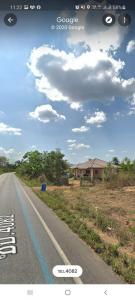 For SaleLandChonburi, Pattaya, Bangsa : Ps230 Land in Nong Yai, Chonburi, with a house on the rubber road, 10 rai than the price from the owner.