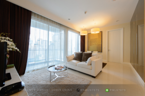For SaleCondoWitthayu,Ploenchit  ,Langsuan : Q Langsuan - Beautifully Furnished 2 Beds / 94 Sqm / Ready To Move In