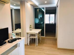 For SaleCondoRatchadapisek, Huaikwang, Suttisan : Happy Condo Ratchada 18 for sale owner post fully furnished  2.1 MB 35.72  sqm Fl.4 Tower D Only this month!! K.Bee  064-146-6445 (031)