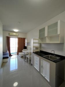 เช่าคอนโดพระราม 9 เพชรบุรีตัดใหม่ : ห้องรีโนเวทใหม่ สวยจุกๆ 9,500 บาท! ให้เช่า A space asoke-ratchada 1 bed 35 ตรม.
