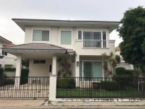 For RentHouseSamrong, Samut Prakan : House for rent, Siwalee Suvarnabhumi, Land and House, King Kaew Road, Bang Phli