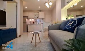 For SaleCondoLadkrabang, Suwannaphum Airport : Urgent sale, Air Link Residence Condo, special price, only 1.529 million baht, completely renovated.