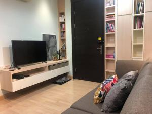For RentCondoRatchadapisek, Huaikwang, Suttisan : RHYTHM Ratchada, ready to move in, fully furnished with electrical appliances.