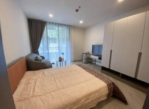 For RentCondoVipawadee, Don Mueang, Lak Si : Rent: THE BASE condo, new bridge, new project, just completed, fully furnished, ready to move in In front of Sai Yud station 30 meters