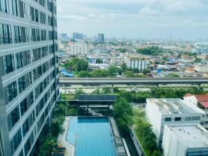 For RentCondoThaphra, Wutthakat : For rent, Ideo Sathorn-Tha Phra, pool view
