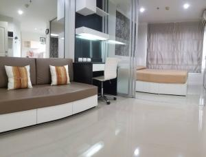 For RentCondoBangna, Lasalle, Bearing : For rent, urgent, special price, Lumpini Ville Lasalle - Bearing 105, Building C, 6th floor, room size 26 sq m, 6,500 / month