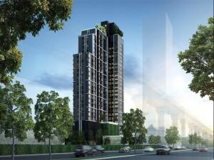 For SaleCondoRatchathewi,Phayathai : Best Yield!! Sale with Tenant 28K!! 35 sq.m. 100m from BTS Victory Monument, RHYTHM Rangnam @7.52MB