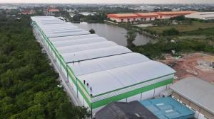 For RentWarehouseRama 2, Bang Khun Thian : Warehouse for rent, new building, Rama 2 Road Bang Khun Thian District Big car, easy to get in and out Suitable as a storage place