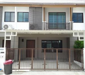 For RentTownhousePattanakan, Srinakarin : B755 2-storey townhome for rent. Pruksa Ville Village 73 Soi Pattanakarn 44