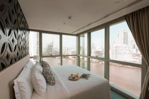 เช่าคอนโดวงเวียนใหญ่ เจริญนคร : [For Rent - Premier Deluxe Room] 1 Bedroom 69sqm. River View Klapsons The River Residences Bangkok near ICONSIAM